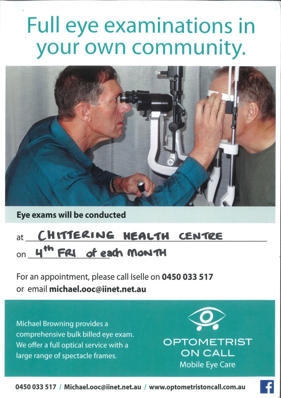 Click for information about optometrist